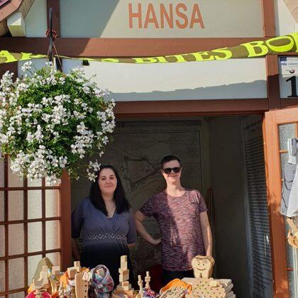 Pārdošanas prasmes Hanzas tirdziņā